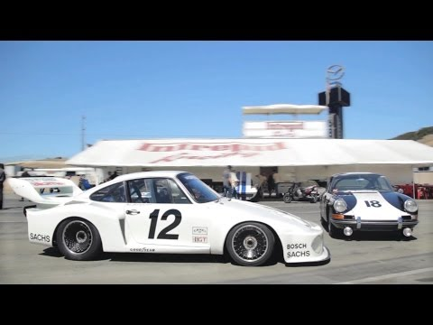 First Winning Porsche 911 Racer Meets Last Werks 935
