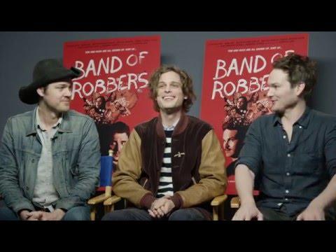 Matthew Gray Gubler, Adam & Aaron Nee talk 'Band of Robbers'