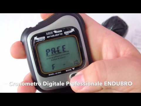 RECENSIONE Cronometro Digitale Professionale ENDUBRO