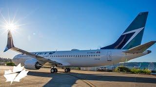 Video WestJet 737 MAX 8 from build to delivery flight MP3, 3GP, MP4, WEBM, AVI, FLV November 2018