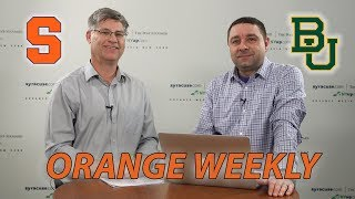 Orange Weekly: Syracuse vs. Baylor 2019 NCAA Tournament preview