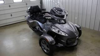10. 2012 Can-Am Spyder RT-S Walk Around