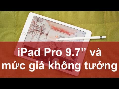 Trực tiếp trên tay ipad pro 32 gb và ipad air 32gb mức giá không tưởng