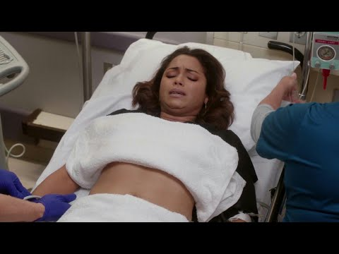 Chicago fire season 4 episode 4 Gabby is rushed into hospital
