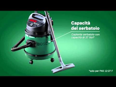 Aspiratore multiuso Bosch PAS 12-27