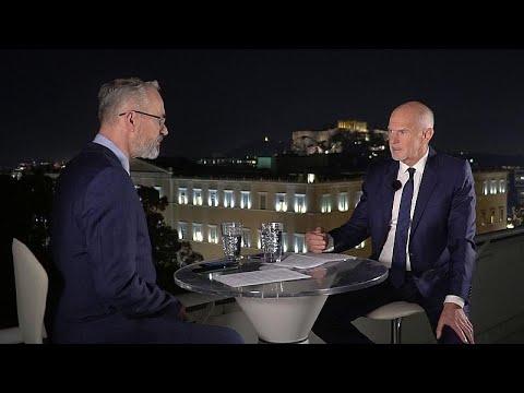 Ο Γιώργος Παπανδρέου στο euronews για τα ελληνοτουρκικά