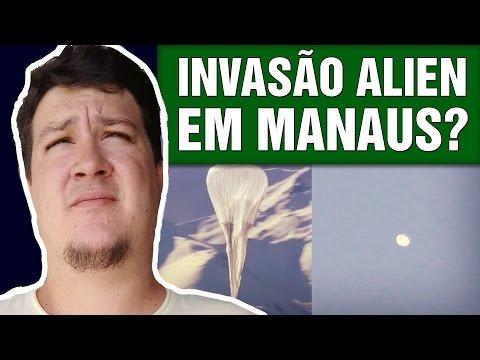 OVNIs Invadiram o Céu de Manaus! Diversas Fotos e Vídeos (Projeto Loon) -  (#442 - Notícias A.) (видео)