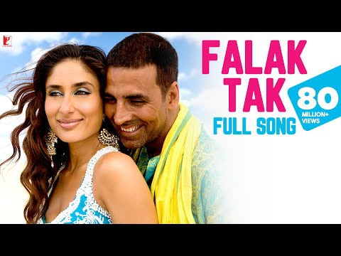 Video Falak Tak -  Full Song | Tashan | Akshay Kumar | Kareena Kapoor | Udit Narayan | Mahalaxmi Iyer download in MP3, 3GP, MP4, WEBM, AVI, FLV January 2017