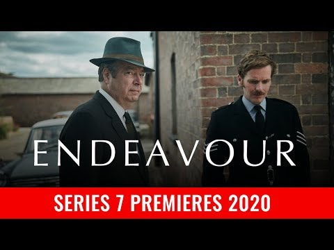 Series 7 of Endeavour renewed for 2020. Shaun Evans & Roger Allam will be back