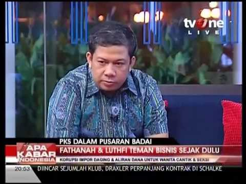FAHRI HAMZAH vs JOHAN BUDI di TV One