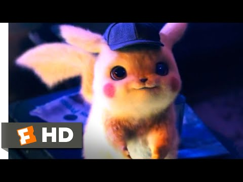 Pokémon Detective Pikachu (2019) - Meeting Pikachu Scene (1/10) | Movieclips
