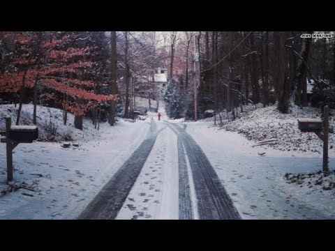 Time-lapse video: Atlanta's snowy transformation