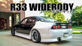 R33 GT-R WIDEBODY KIT INSTALL! by Evan Shanks