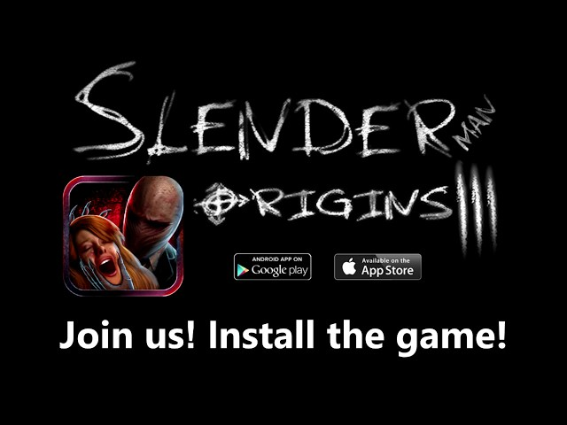 Slender Man Origins 3: Abandoned School (iOS & Android)