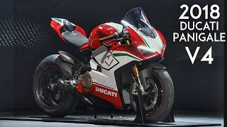 8. 2018 Ducati Panigale V4 | All you need to know | EICMA 2017 | RWR