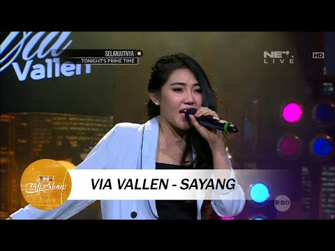 Via Vallen - Sayang - Live At Ini Talk Show