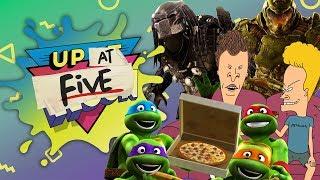 Up At Noon (At Five) LIVE!: New TMNT, Beavis & Butt-Head, & Alien Vs. Predator Vs. Marvel by IGN