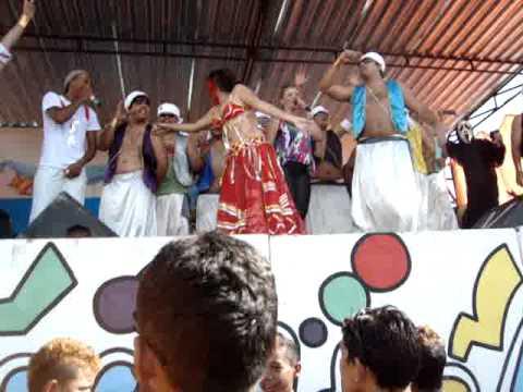Carnaval Mil e Uma Noites em Banabuiú OS CAPETAS 2011 Dalila no Palco