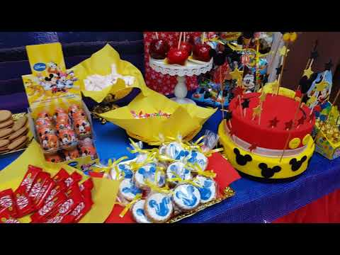 Mesa Candy Bar Mickey Mouse