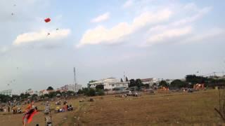 Chơi Thả Diều Cuối Tuần ở Hóc Môn, TP.HCM