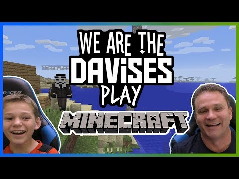 Father Son Minecrafting | Minecraft Ep-5 | We Are The Davises Gaming