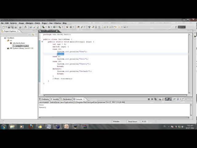 [Java cơ bản] Bài 14: Cấu trúc Switch (Phần 2)
