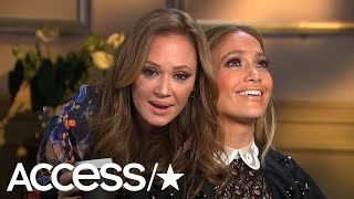 Jennifer Lopez Loses It As BFF Leah Remini Hilariously Crashes Her Interview Multiple Times!