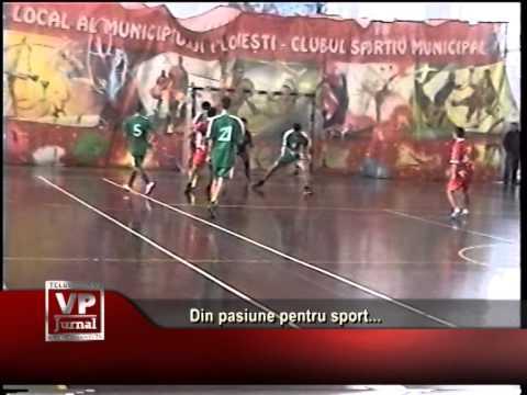 Din pasiune pentru sport…