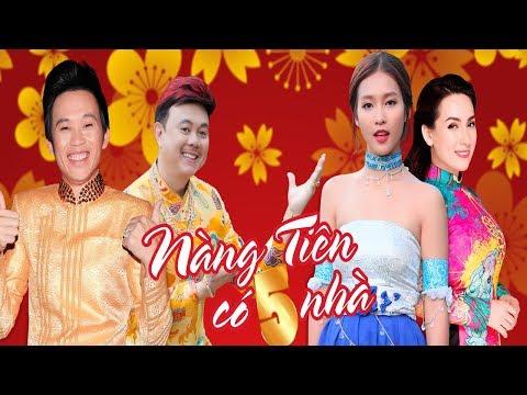 Hài Tết 2018 | Nàng Tiên Có 5 Nhà Full | Phim Hài Tết Mới Nhất 2018 - Hoài Linh, Chí Tài, Phi Nhung - Thời lượng: 1:32:00.