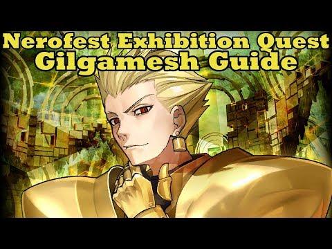 Nero Fest Gilgamesh Exhibition Quest Guide - FGO (видео)
