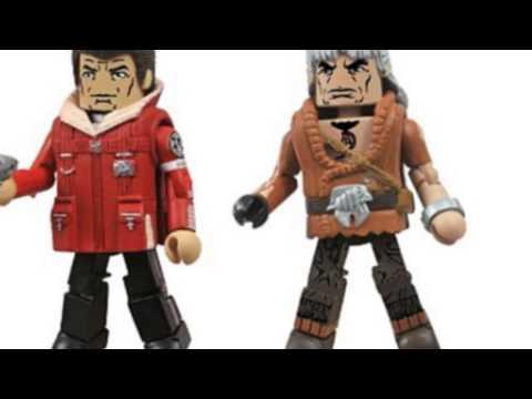 Video YouTube post on the Toys Star Trek Legacy Minimates Series
