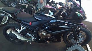 10. Honda CBR500R 2018
