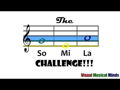 The So Mi La Challenge
