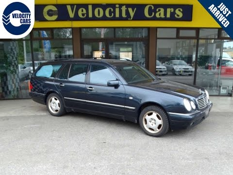 1998 Mercedes-Benz E320 WAGON 7-SEAT 4WD for sale in Vancouver, BC, Canada
