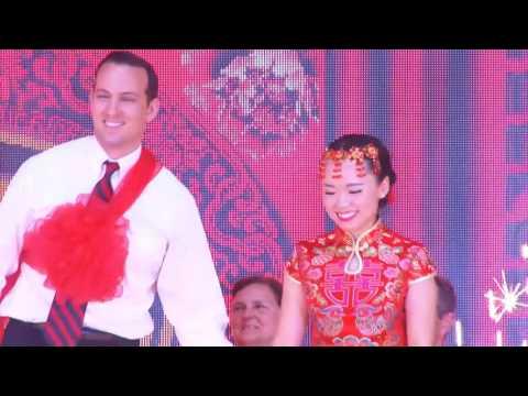 Lucas and Zoey China Wedding (видео)