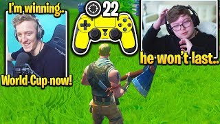 TFUE *FINALLY* SWITCHES to CONTROLLER! (Fortnite)