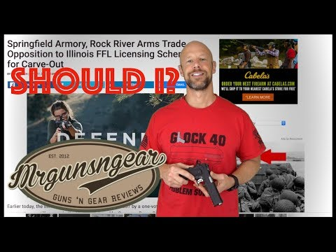 Should I Review Springfield Armory Products After Their Anti Second Amendment Actions? (видео)