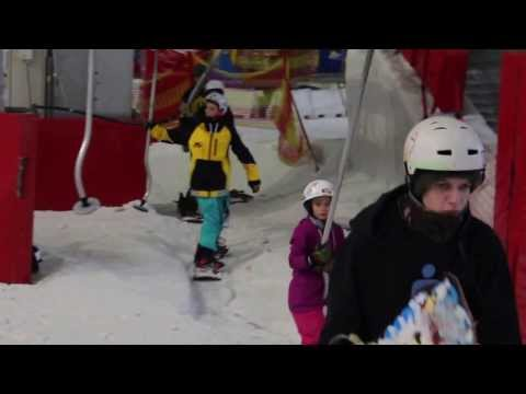 whitelegg - Jack taking a few laps at Chill Factore Manchester.