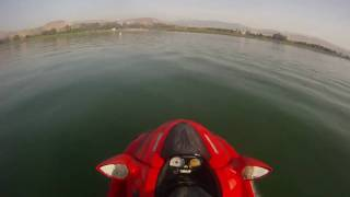9. Kawasaki Ultra 250x Full throttle using GoPro HD Hero!