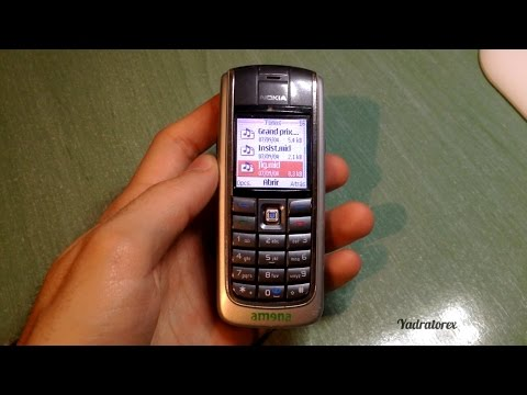 Nokia 6020 retro review (old ringtones and others)