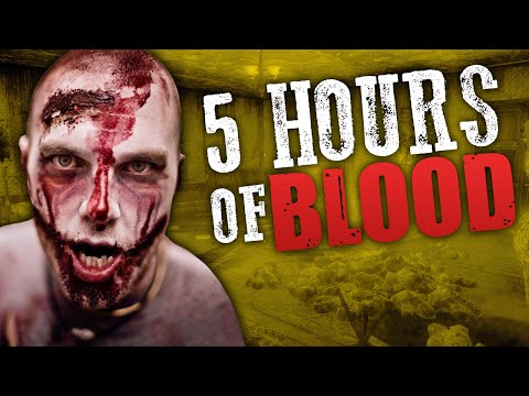 5 HOURS OF BLOOD (Part 2) ★ Call of Duty Zombies Mod (Zombie Games)