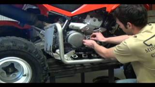 2. ATV Oil Change at Flippin High School