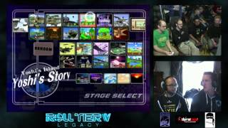 Mew2King and his dad in Melee Doubles
