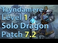 League of Legends: Tryndamere Level 1 Solo Dragon Season 7 (Patch 7.2)