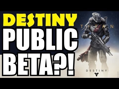 Public Beta - Bungie will have a Beta for Destiny to help fine-tune the game's weapon-levelling system. But will it be a public Beta? Fingers crossed! Thanks TheRaptorGaming!