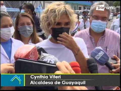 Alcaldesa de Guayaquil dijo que municipio importará 2 millones de vacunas contra el covid-19