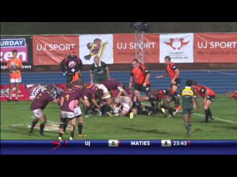 Highlights: UJ vs Maties (2014)