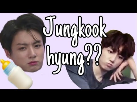 """Jungkook hyung""will always be BTS's baby maknae"