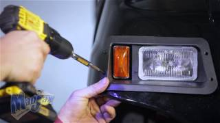 How to install a Madjax® Light Kit on a Yamaha® G22® golf cart Visit us online at http://mymadjax.com.