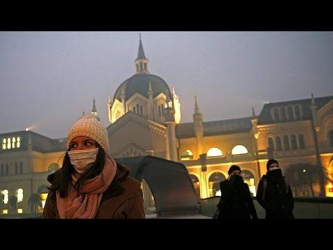 Κίνα-Ευρώπη: Υψηλά επίπεδα ατμοσφαιρικής ρύπανσης